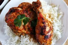 Ethnic: Dominican Pollo Guisado, December 10. Serve with rice and beans.