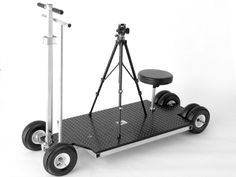 Doorway Dolly / Track Dolly. Black Bear Studio Systems. Innovative. Filmmaking. Equipment.