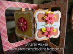 Felt Flower Accordion Card