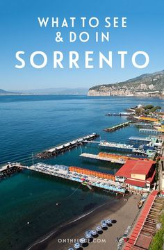 Sirens and sunsets: What to do and see in Sorrento
