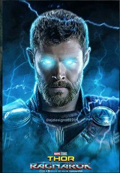Thor Ragnarok arwork poster.
