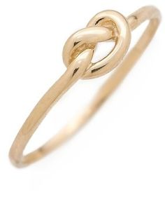 Ariel Gordon Jewelry Love Knot Ring on shopstyle.com