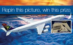 Make your friends jealous with this SAA swag pack. Follow pinterest.com/flysaa on Pinterest and repin this photo to win it! 5 repins are required to unlock this prize! More prizes here: http://pinterest.com/flysaa/repin-your-way-to-south-africa/ Official Rules: http://www.flysaa.com/cms/US/repinyourwaytosouthafrica.html. Enter by June 29.
