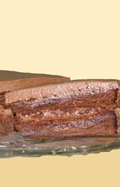 Queen Maple Syrup Chocolate Mousse Cake -recipe