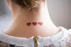 Recanto das Mulheres: Tatuagens delicadas e discretas