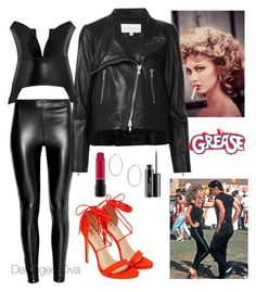 """""""Tell Me About It Stud..."""" by derangeddiva on Polyvore featuring Veronica Beard, Loewe and MAC Cosmetics"""