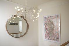 Kolorowe, Art-Filled główna Lisy - Dom Tour | Terapia Apartament
