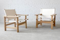 Børge Mogensen #2231 Fredericia Oak Lounge Chair - Click for more images