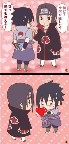 <3 Sasuke & Itachi - by mutsumix