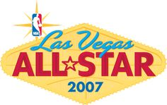 NBA All-Star Game Primary Logo (2007) - 2007 All-Star Game at Las Vegas