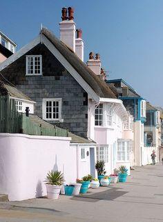 village of Lyme Regis, Dorset, England
