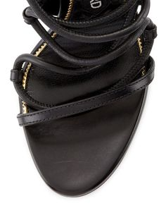 TOM FORD - Strappy Leather Ankle-Cuff 105mm Sandals