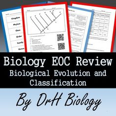 Multiple choice constructed response questions in preparation for biology eoc review evolution classification study cards included fandeluxe Gallery