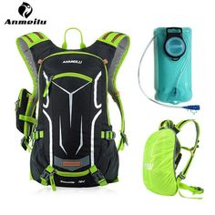 ANMEILU 18L Sports Camelback 2L Water Bladder Waterproof Hydration Backpack Men Women Camping Climbing Cycling Backpack Hydrator