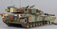 Military Armor, Military Figures, Military Diorama, M1 Abrams, Rc Tank, Tank Armor, Tank Destroyer, Model Tanks, Armored Fighting Vehicle