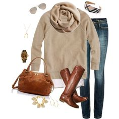 """easy fall"" by shopwithm on Polyvore"