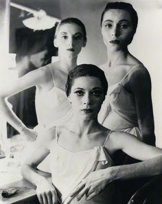 1952 Balanchine dancers Tanaquil LeClerc, Maria Tallchief and Diana Adams