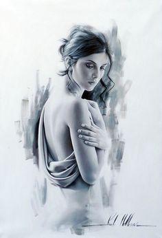 A painting by artist Rob Hefferan