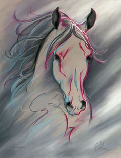 Silver Celebration | Spirit of Horse Art by Kim McElroy
