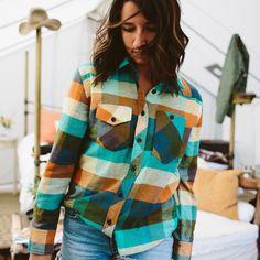 Women's Work Shirt – Heavyweight  http://topodesigns.com/collections/fall-2016/products/womens-work-shirt-heavyweight
