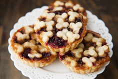 huckleberry brown butter tarts recipe   use real butter