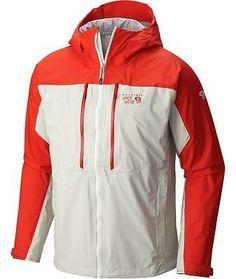 Mountain Hardwear Alpen Plasmic Ion Jacket - Men s Fiery Red Stone XL Mens  Outdoor Jackets 72fd1cd4d73