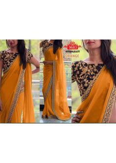 Bollywood Replica - Party Wear Yellow Saree - WA0044
