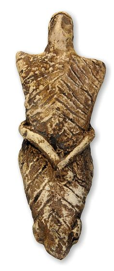"Mother goddess figurine ""Romanian Venus from Cucuteni"". Own cast."