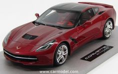 BBR-MODELS BLM1812E 1/18 CHEVROLET CORVETTE C7 STINGRAY COUPE 2014 Skala:: 1/18Code: BLM1812EFarbe: RED METMaterial: HarzAnmerkung: LIMITED 150 ITEMS