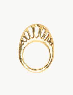 Dream Collective Golden Eurybia Ring