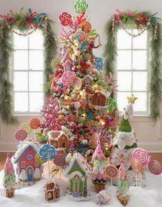 my favororite things felt ornament kit | Candyland Christmas Inspiration