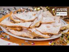 LE BUONE RICETTE DI PAM E PANORAMA: Galani di Carnevale - YouTube