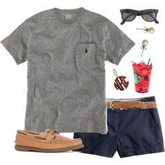 classic combo by classically-preppy on Polyvore cheap rayban sunglasses,rayban discount