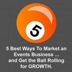 What are the best ways to market an events firm or event planning business? Here are 5 proven event marketing tactics from Planning Pod.
