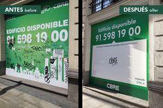 Cómo darle la vuelta a un problema #dejatusello Gran Vía, 4. Madrid (julio 2015)