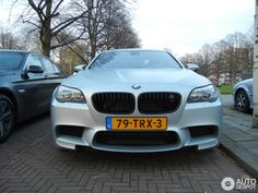 M Performance parts look like on the F10 M5