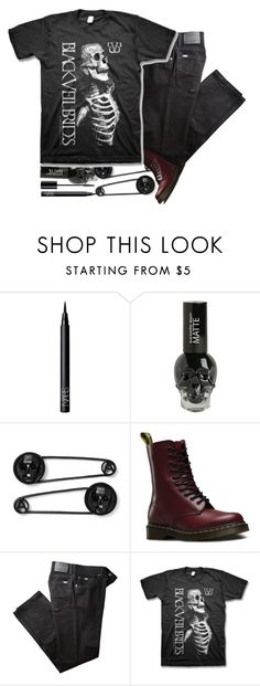 """""""~who will remember your last goodbye~"""" by bachelors-new-clothes ❤ liked on Polyvore featuring Christian Dior, NARS Cosmetics, Dr. Martens and BRAX"""