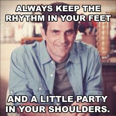Phil Dunphy's guide to Dad dancing.