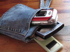 DIY IPod, Earbud, etc. pouch