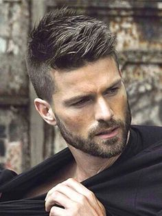 Short stubble – When can you carry this off? Why do you need the short stubble and how is it managed? Especially for men who wish to grow a thick beard and/or have patchy growth! New Hair, Your Hair, Wavy Hair, Short Hair Cuts, Short Hair Styles, Boy Hairstyles, Hairstyle Ideas, Latest Hairstyles, Modern Hairstyles
