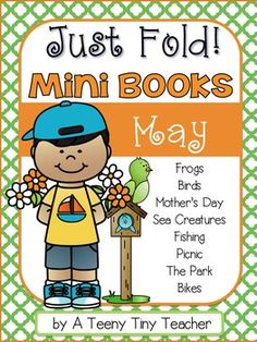 Just Fold! Mini Books {May}