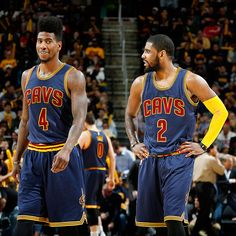 Kyrie Irving (hip), Iman Shumpert (quad) sit out loss to Celtics