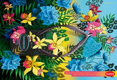 Havaianas Slim Tropical Fever- Resort 2014 on Behance