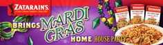 I won a party pack from House Party, so Mardi Gras at my house next weekend!