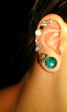 All these earrings are so cute!