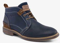 Australian footwear beeston leather blue 15.1019.01 S00