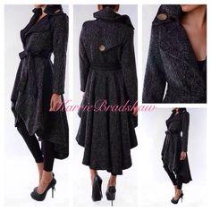 Perfect Fall / Winter Coat  KarrieBradshaw.com Wool Blend