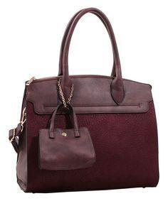 e7da926421c Wine Structured Satc Satchel Handbags, Leather Handbags, Leather Bag, Wine  Collection, Best