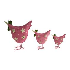 Large/ Medium/ Small Tin Chickens (Sold Separately)