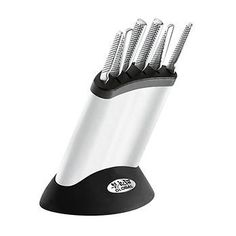 Ideas For Kitchen Gadgets Funny Knife Block Global Chef Knife, Global Knife Set, Global Knives, Knife Block Set, Knife Sets, Kitchen Knives, Kitchen Gadgets, Cutlery Storage, Cooks Knife